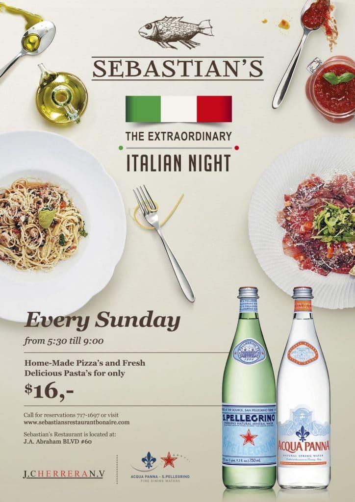 Italian restaurant Bonaire